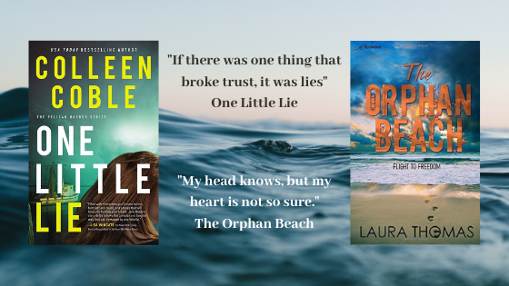 Double Book Review: The Orphan Beach and One Little Lie